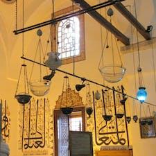 トルコ/コンヤ/メヴラーナ博物館 博物館になっているモスク内の一角が抽象画のように見えて撮影しました。不思議な感じです。
