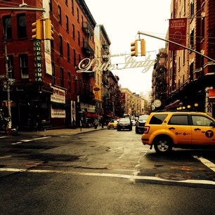 New York / Manhattan Little Italy リトルイタリーのスナップショット。