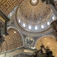 バチカン市国  1枚の写真では入りきらない とても素敵な教会✨