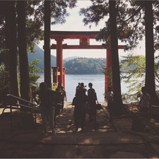 神秘的  @箱根神社