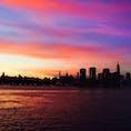 New York / Brooklyn Greenpoint ニューヨークの夕焼けは、写真を撮らずにはいられないほど色が鮮やかで美しいです♪特にグリーンポイントからの眺めは最高!
