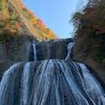 茨城 袋田の滝 混んでます(笑)