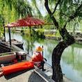 岡山 倉敷の川舟流し 事前予約はできない為、倉敷についたら現地で早めにチケットをGETをオススメします(๑˃̵ᴗ˂̵)