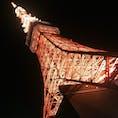 東京 東京タワー  夜景