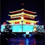 中国 西安 鐘楼