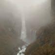 雨の日 華厳の滝