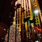 New York / Manhattan Rockefeller Center 世界最大の大きさのロックフェラーセンターのクリスマスツリー!2019年は12月4日(水)が点灯式です♪