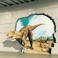 #福井県 恐竜の県。福井駅前