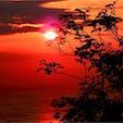 山口県 下関 火の山公園から見る関門海峡の夕暮れ