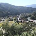 ✔️岐阜📍白川郷 なが〜い坂を登ってみれた素敵な景色🤣 どこもかしこもきれいだった〜!!