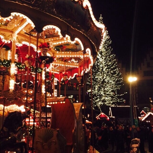 フランクフルトのクリスマスマーケット