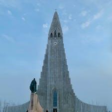 アイスランド🇮🇸  レイキャビク ハットルグリムス教会