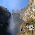 華厳の滝(∩ˊᵕˋ∩) .゚♡  #日光 #華厳の滝 #日本三名瀑