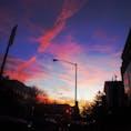New York / Brooklyn Greenpoint ブルックリン・グリーンポイント街並みの夕焼け♪
