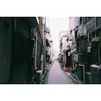 #尾道 #広島 #8月 #写ルンです  裏道、写ルンです、いい味出してます。