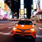 New York / Manhattan Times Square タイムズスクエア&イエローキャブ♪ #newyork #manhattan #timessquare