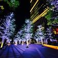 東京ガーデンテラス  冬の寒い永田町での一枚♪ イルミネーションが映えますね(^^)