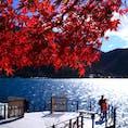 #日光 #中禅寺湖 #紅葉 🍁🍂