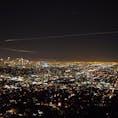 グリフィス天文台からのLAの夜景