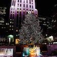 New York / Manhattan Rockefeller Center ロックフェラーセンターのクリスマスツリー♪ #newyork #manhattan