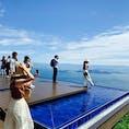 #滋賀県 びわ湖バレイ。インスタ映えスポットのよう
