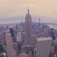 朝を迎えるマンハッタン