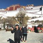 チベット ラサ ポタラ宮殿