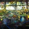 二条城ライトアップ flowers by naked  古き良き落ち着く日本感と イマドキなプロジェクションマッピングのコラボ。  素敵すぎた〜!! 画面の明るさmaxでぜひ🥺  #京都#二条城#ライトアップ
