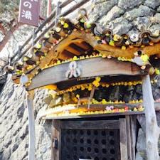 伊香保温泉♨️ アヒルがいっぱい 実はゴミ集積所だった