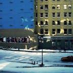 New York / Manhattan Houston Street 雪の日のニューヨーク・ソーホー。 #newyork #manhattan