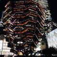 New York / Manhattan Hudson Yards, Vessel 夜のベッセル。絵に描いたような美しさです! #newyork #manhattan #hudsonyards #vessel