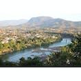 ラオス/ルアンパパーン プーシーの丘から見たメコン川  #LuangPrabang #MekongRiver #MountPhouSi
