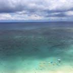 グアム、デュシタニホテルのベランダから見えるタモンビーチ 2019年5月