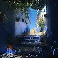 Morocco #青の街