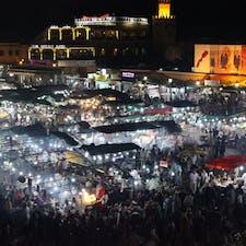 Morocco #Night Market🌟