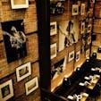 New York / Manhattan SOHOにあるレストランのディスプレイ。高い天井を生かしてPhotographyがたくさん飾られたとっても素敵なお店♪ #newyork #manhattan