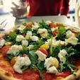 New York / Manhattan SOHO SOHOにある地元の人に人気のPIZZAレストランで。サラダピザが絶品! #newyork #manhattan #soho