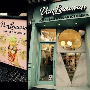 New York / Manhattan Van Leewen Ice Cream NOLITA地区にある人気のビーガンアイスクリーム屋さん。最近では、NYを舞台にした映画『The Sun Is Also A Star』の中でも登場します。 #newyork #manhattan #nolita
