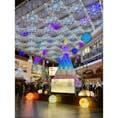 今年の鹿児島中央駅広場のイルミネーションは、力が入っていますねぇ。 とてもキレイです!