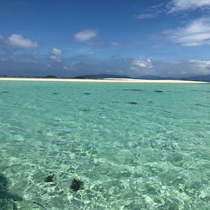 石垣島 幻の島 海綺麗すぎて…