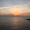 タイ、プーケット、プロンテップ岬から見える夕日 2019年9月
