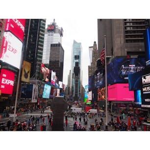 アメリカ Times square