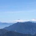 2019年9月 立山の頂上から富士山が見えるのです