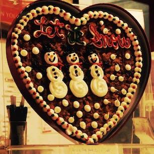 New York / Manhattan マンハッタンの街中のクッキー屋さんの本物のクッキーでできたディスプレイ。 #newyork #manhattan