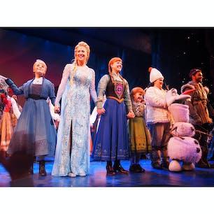 アメリカ FROZEN Broadway Musical@St.James theatre
