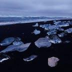 アイスランド ダイアモンドビーチ💎
