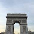 the Arc de Triomphe - France