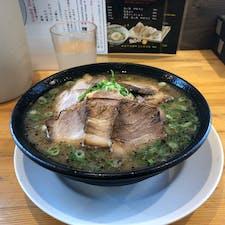 仕方ないから、指宿駅近くの麺屋二郎の チャーシュー麺🍜を食す。🤤
