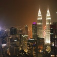 マレーシア、クアラルンプール  ペトロナムツインタワー