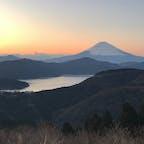 神奈川県___2020.1.3  芦ノ湖と富士山(箱根町)